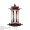 Homestead Long Stem Scarlet Rose Design Bird Feeder 5 lb. (4410)
