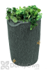 Impressions 50 Gallon Bark Rain Saver - Gray