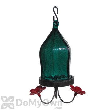 Natures Way Teal Straight Jewel Bottom Fill Bird Feeder 18 oz. (JHF3)