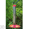 Nelson Products Company Tube Bird Feeder with Red Tray (NELSONP497TRR)