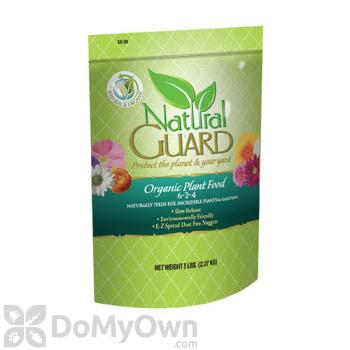 Natural Guard Organic Plant Food 6-2-4