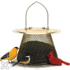 No / No Feeder Brass Bird Feeder with Roof Extension 2.5 lb. (B00302CS)
