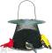 No / No Feeder Forest Green Bird Feeder with Roof 2.5 lb. (G00311CS)