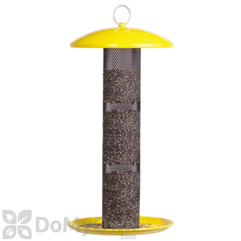 No / No Feeder Yellow Straight Sided Finch Bird Feeder 17 in. (YSSF00346)