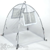 NuVue Pop - UP  Framed Greenhouse - Clear PVC (28