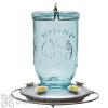 Perky Pet Wide Blue Antique Glass Hummingbird Feeder 32 oz. (785)