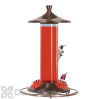 Perky Pet Brushed Metal Glass Hummingbird Feeder 12 oz. (PP710B)
