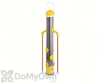 PineBush Finch Feeder with Dowels Yellow 18 in. (04947)