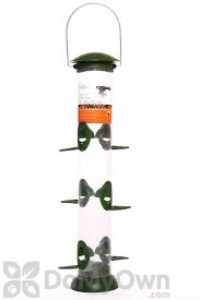 PineBush Click Top Nyjer Seed Bird Feeder 16 in. (30418)