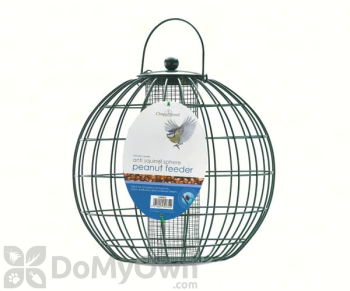PineBush Peanut Bird Feeder with Anti-Squirrel Sphere 1 kg. (30832)