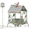 Regal Art and Gift Rustic Bird House Bird Feeder with Stake (10388)