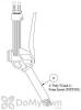 Poly Wand with Foam Insert for Foamer Simpson 4 in. (part #8) (FSPT008)