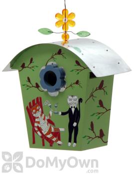 Rossos International Retro Barn Olivers Happy Hour Bird House (WP39)