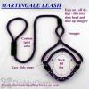 Soft Lines Martingale Dog Leash - 6 Foot x 1 / 2