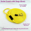 Soft Lines Floating Dog Swim Snap Leashes - 1 / 4