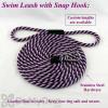 Soft Lines Floating Dog Swim Snap Leashes - 3 / 8