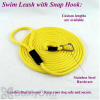 Soft Lines Floating Dog Swim Snap Leashes - 1 / 2