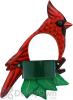 Songbird Essentials Cardinal Window Bird Feeder (SE3870236)
