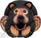 Songbird Essentials Black Bear Gord O Bird House (SE3880057)
