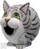 Songbird Essentials Grey Tabby Cat Gord - O Bird House (SE3880077)