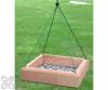 Songbird Essentials Hanging Tray Bird Feeder 12 x 12 in. (SE532)