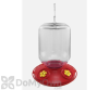 Songbird Essentials Complete Switchable Hummingbird Feeder with Yellow Flowers - Bulk 48 oz. (SE6030)