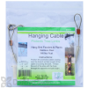 Songbird Essentials Hanging Cable For Bird Feeders and Plants 18 in. (SE8018)