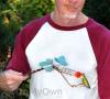 Songbird Essentials Copper Ivy Wand Hummingbird Feeder (SEHHWAND)