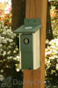 Songbird Essentials Two Toned Nesting Box Bird House (SERUB2TH100)