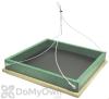 Songbird Essentials Small Hanging Platform Bird Feeder (SERUBSHPF100HD)