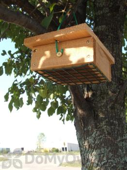 Songbird Essentials Cedar Upside Down Suet Box (SESCS406)