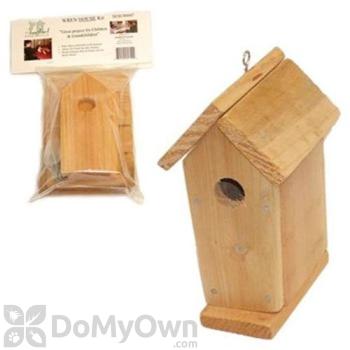 Songbird Essentials Cedar Wren House Kit (SESCSRW7003)