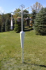 Squirrel Stopper White Bird Feeder Post Assembly (SQC22)