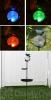 STI Smart Solar Aquarius Bird Bath Stake with Glass Orb Solar Light (3058MRM1)