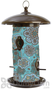 Toland Home and Garden Blue Marrakesh Bird Feeder 14.5 in. (202041)