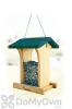 Woodlink Audubon Deluxe Cedar with Green Roof Bird Feeder 4.75 lbs. (NABIN)