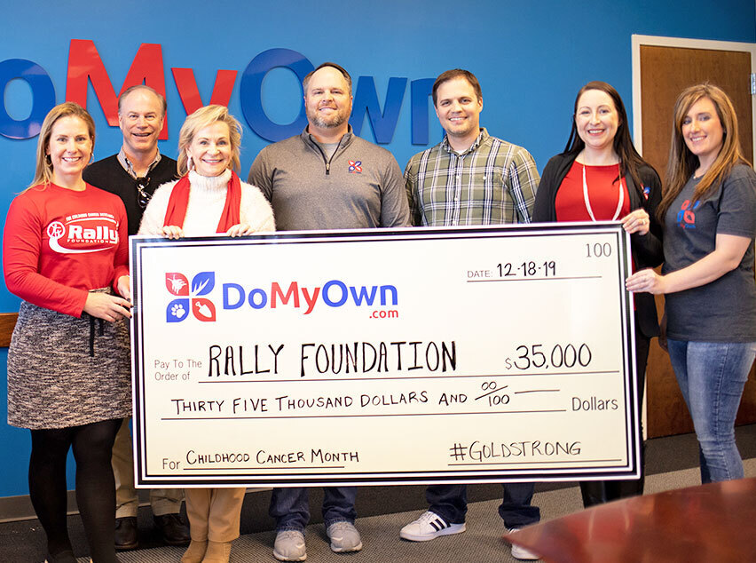 Donation to Rally Foundation - 2019